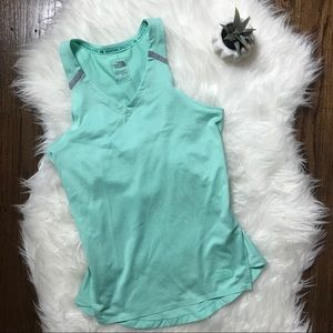 The North Face Blue Athletic Work Out Tank Top